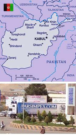 Shipment to Afghanistan
