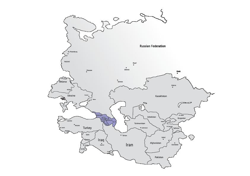 Mappe-Caucaso