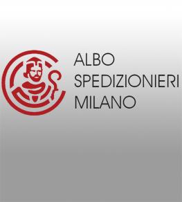 """Anerkanntes Mitglied von """"ALBO DEGLI SPEDIZIONIERI"""""""