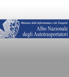 """ANERKANNTE MITGLIEDSCHAFT VON """"AUTOTRANSPORT ALBO AUTORISIERT AUF INTERNATIONALEN ÜBERTRAGUNG VON DRITTANBIETERN"""""""